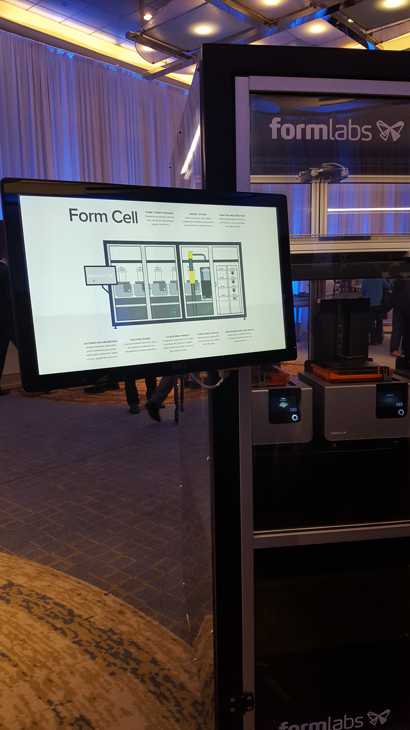 Formlabs showcases automated 3D printing system | Dental