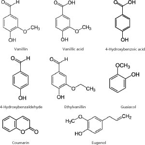 Comparison of Compounds in Bourbon Vanilla Extract and