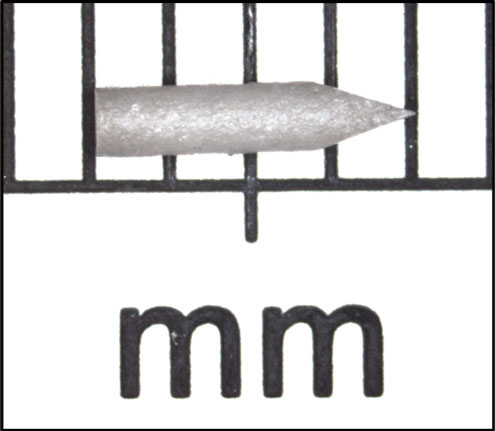 Figure 1: Solid dose disposable cassette.