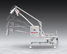 Portable Conveyor for Transporting Bulk Materials | Pharmaceutical