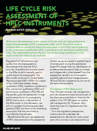 Life Cycle Risk Assessment of HPLC Instruments   LCGC