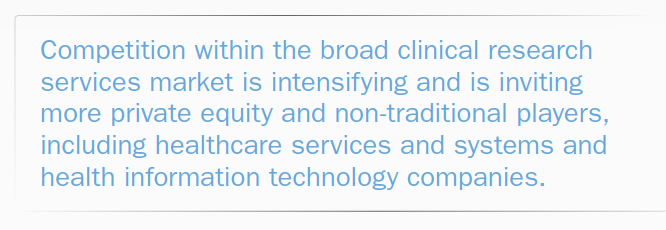 Introducing A New Era For Contract Clinical Research Services